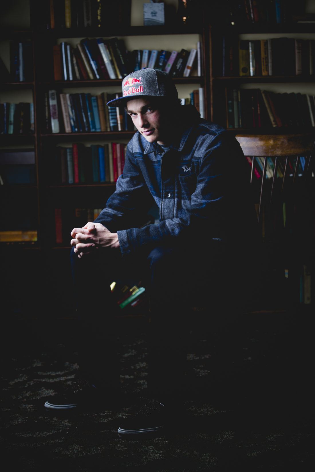 Olympic Bronze Medalist Nick Goepper, photographed for Freeskier Magazine