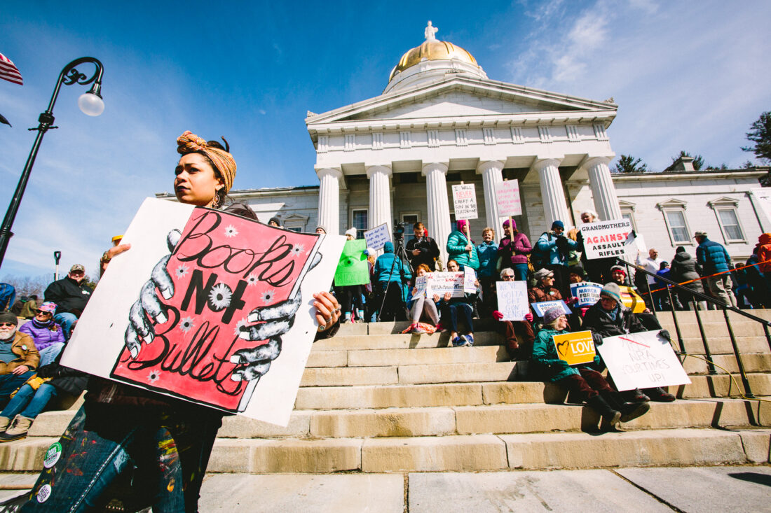 March for Our Lives March in Montpelier, VT