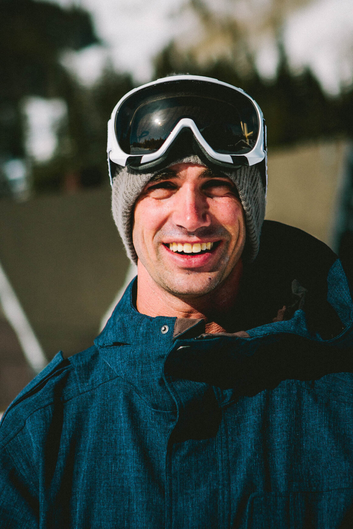 Portrait of Line Skis and JSkis founder, Jason Levinthal