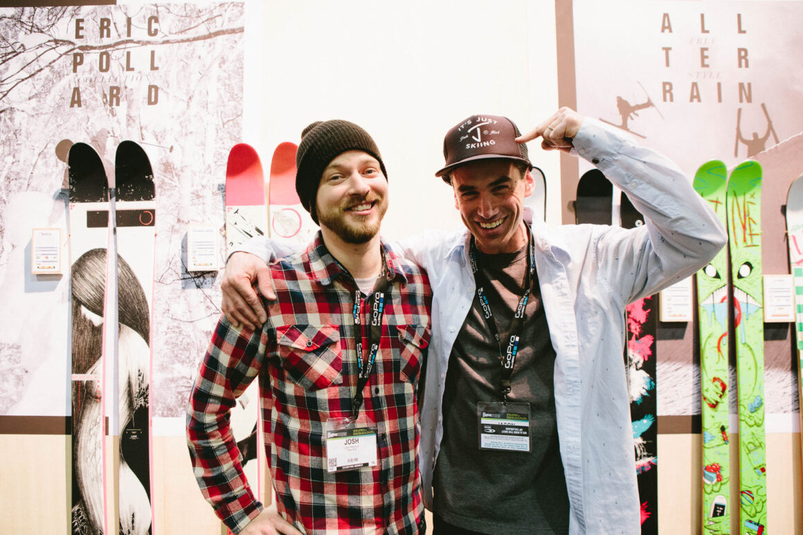 Josh Malczyk and Jason at SIA in January of 2015